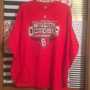 Other - St Louis Cardinals 2012 World Series long sleeve
